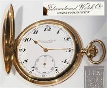 "Savonette.  Taschenuhr ""IWC"", International Watch Schaffhausen."